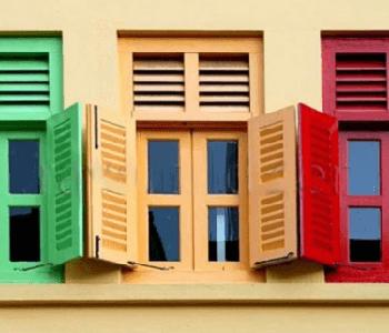 Покраска ПВХ и алюминиевых окон – новые возможности!